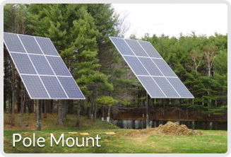 solar electric system design-Pole Mount