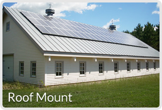solar electric system design-Roof Mount